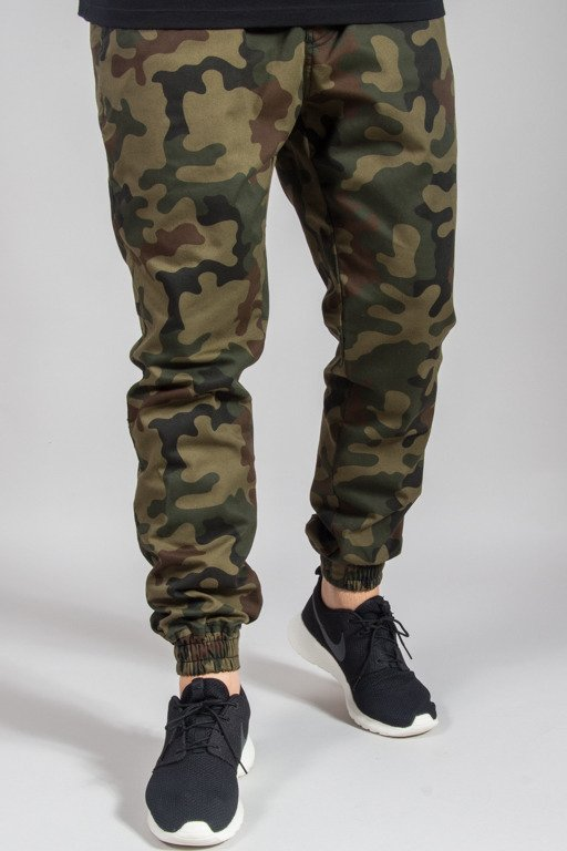 NEW BAD LINE PANTS CHINO JOGGER ICON CAMO