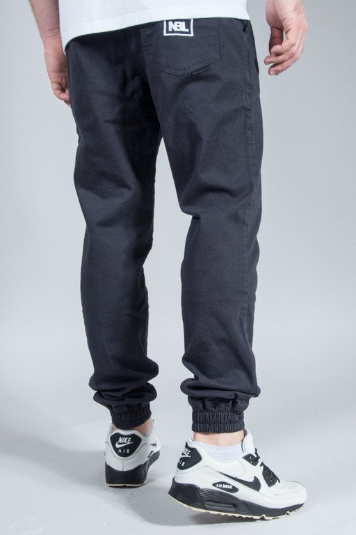 NEW BAD LINE PANTS CHINO JOGGER ICON GRAPHITE
