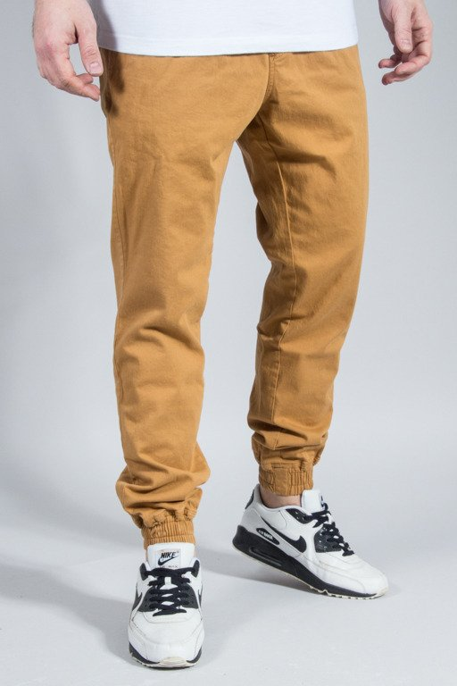 NEW BAD LINE PANTS CHINO JOGGER ICON HONEY