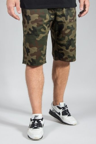 NEW BAD LINE SHORTS CHINO ICON CAMO