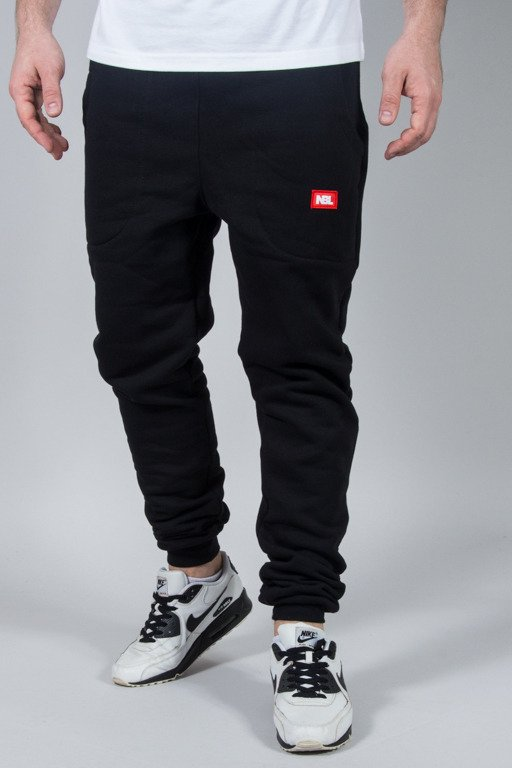 NEW BAD LINE SWEATPANTS SPORT BLACK