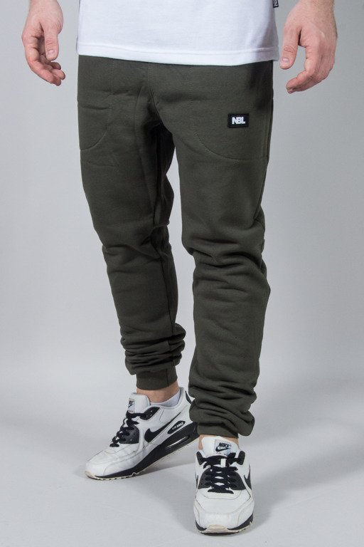NEW BAD LINE SWEATPANTS SPORT KHAKI