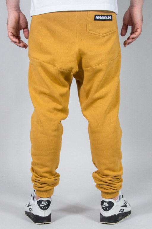 NEW BAD LINE SWEATPANTS SWAG LOW CAMEL