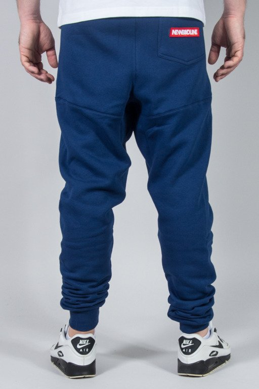 NEW BAD LINE SWEATPANTS SWAG LOW NAVY