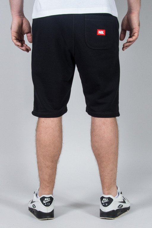 NEW BAD LINE SWEATSHORTS NBL BLACK