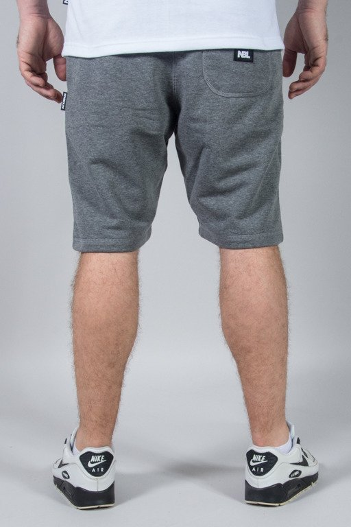 NEW BAD LINE SWEATSHORTS NBL GREY