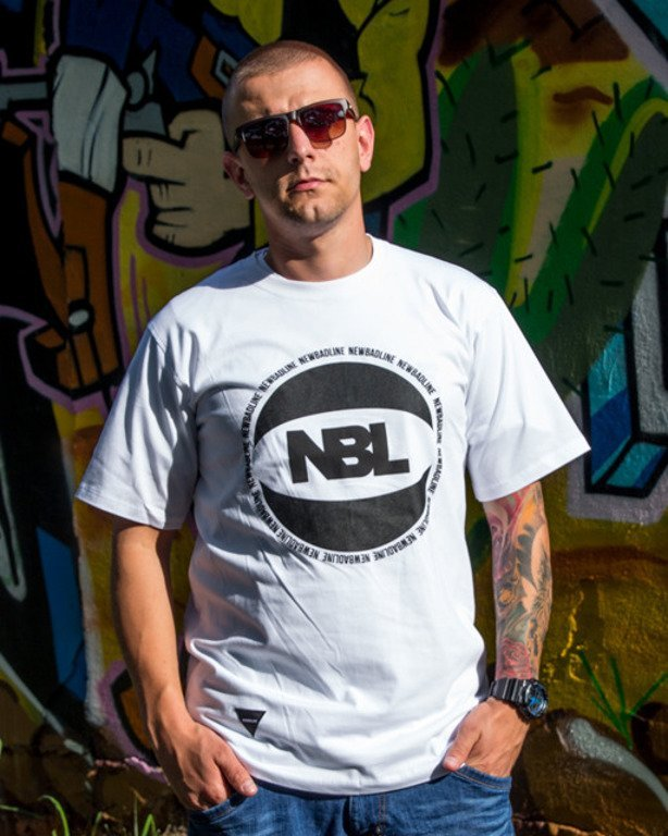 NEW BAD LINE T-SHIRT BASKET WHITE
