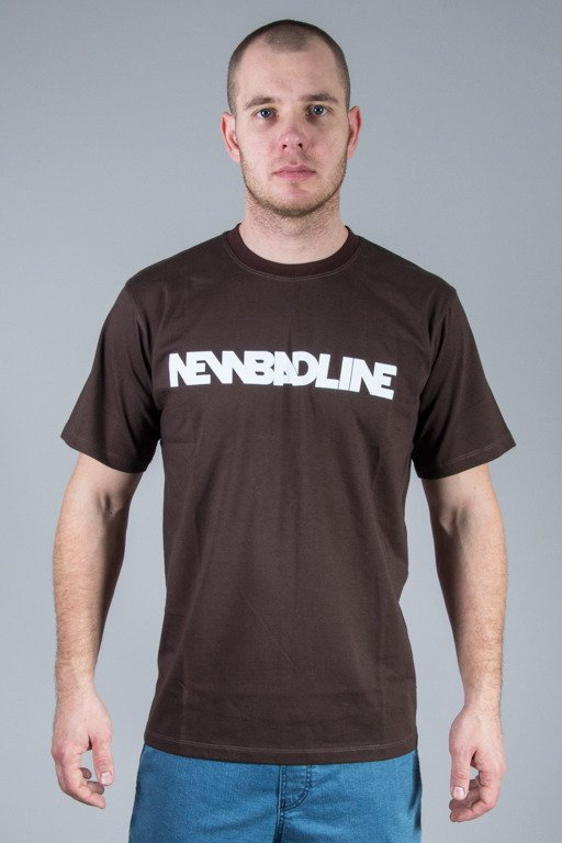NEW BAD LINE T-SHIRT CLASSIC BROWN