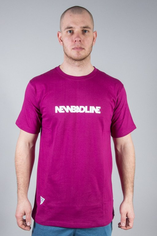 NEW BAD LINE T-SHIRT CLASSIC VIOLET