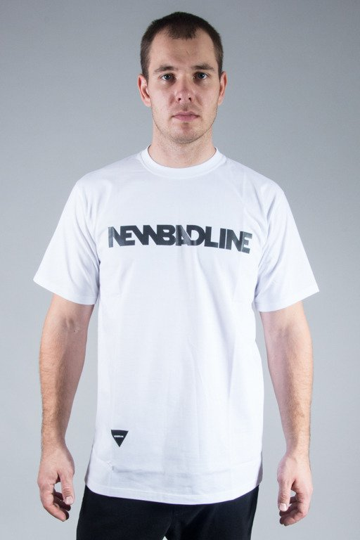 NEW BAD LINE T-SHIRT CLASSIC WHITE-BLACK