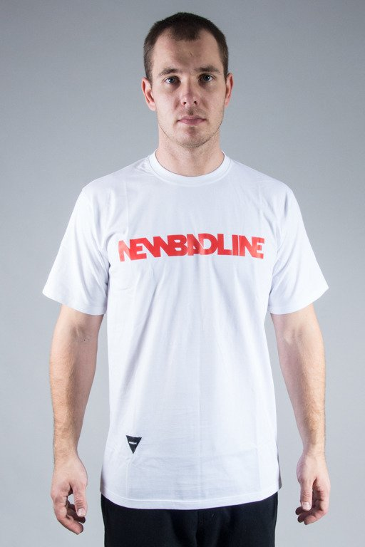 NEW BAD LINE T-SHIRT CLASSIC WHITE-RED