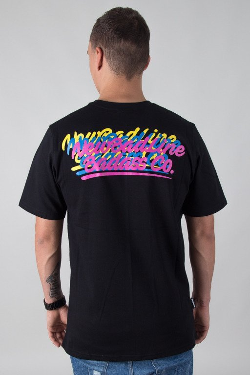 NEW BAD LINE T-SHIRT COLORLOGOS BLACK