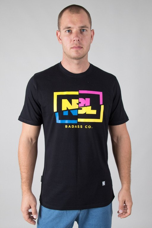 NEW BAD LINE T-SHIRT CUT ICON BLACK
