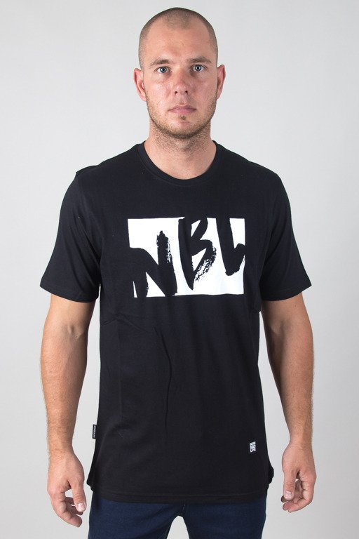 NEW BAD LINE T-SHIRT DRAW BLACK