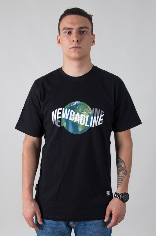 NEW BAD LINE T-SHIRT EARTH BLACK