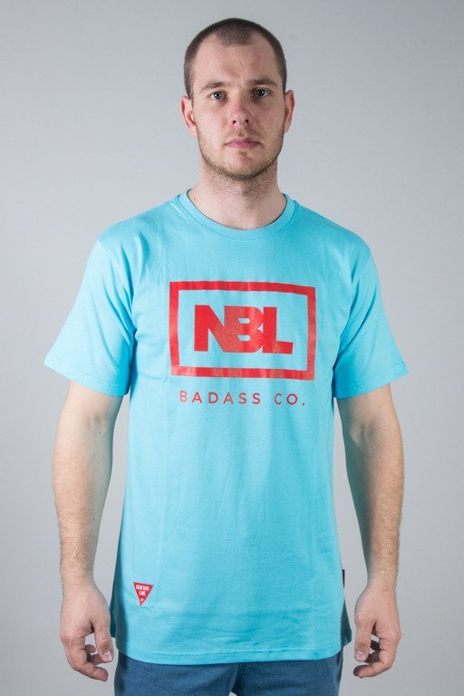 NEW BAD LINE T-SHIRT ICON LIGHT BLUE