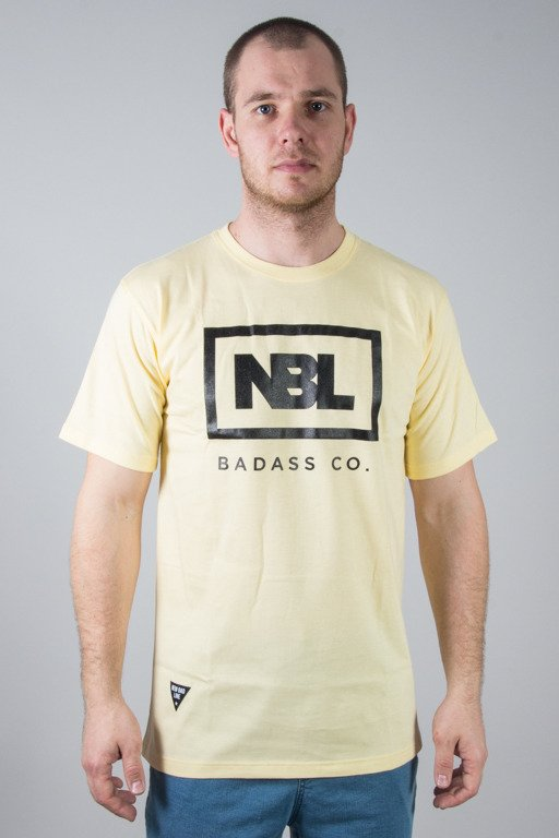 NEW BAD LINE T-SHIRT ICON YELLOW