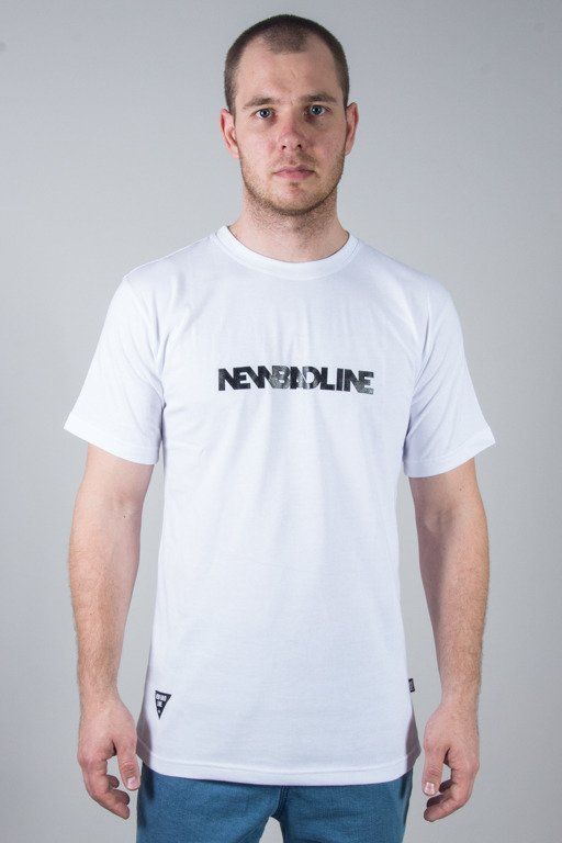 NEW BAD LINE T-SHIRT SMALL CLASSIC WHITE