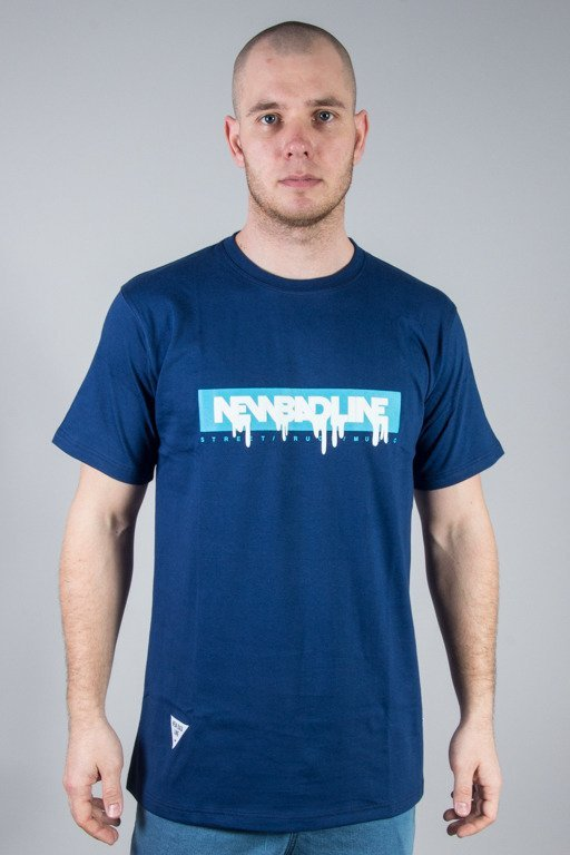 NEW BAD LINE T-SHIRT SPRAY NAVY