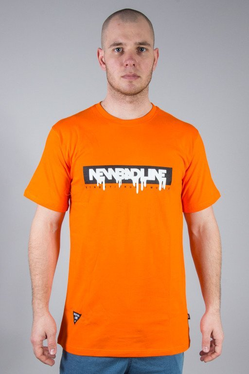 NEW BAD LINE T-SHIRT SPRAY ORANGE
