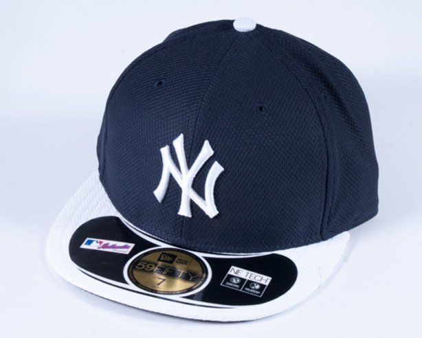 NEW ERA CZAPKA FULL CAP DIAMOND NY BLACK-WHITE