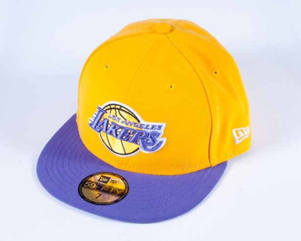 NEW ERA CZAPKA FULL CAP L0S ANGELES LAKERS YELLOW-PURPLE