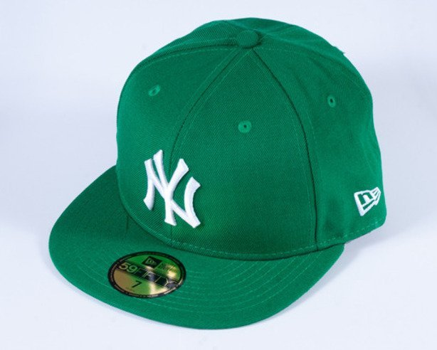 NEW ERA CZAPKA FULL CAP NY GREEN