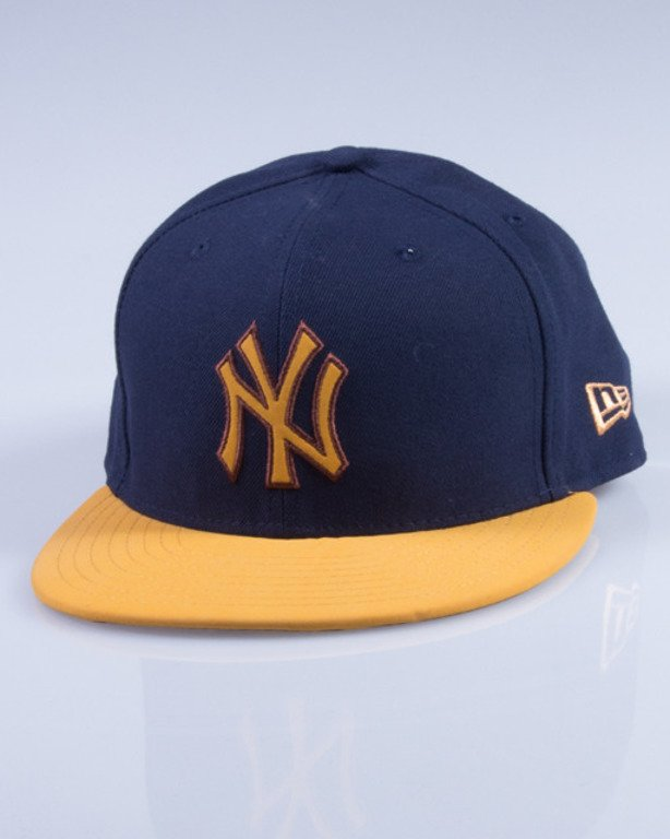 NEW ERA CZAPKA FULLCAP 80195098 NAVY-BEIGE