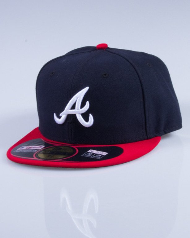 NEW ERA CZAPKA FULLCAP MLB AUTHENTIC 10010240 NAVY-RED