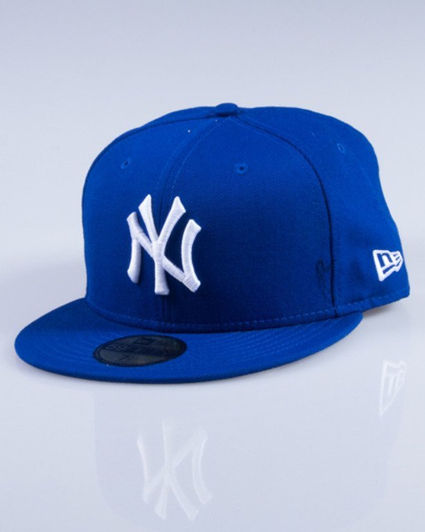 NEW ERA CZAPKA FULLCAP MLB BASIC 10002059 BLUE-WHITE