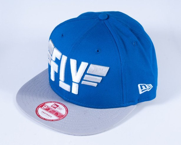 NEW ERA CZAPKA SNAPBACK SLOGAN PACK FLY BLUE-GREY
