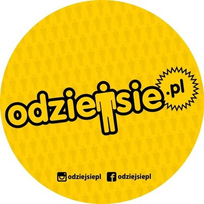 ODZIEJSIE WLEPKA NEW LOGO YELLOW