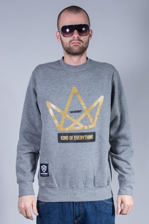 OPONENT CREWNECK KING GREY