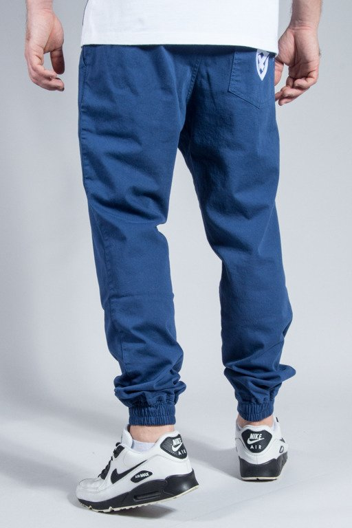 OPONENT PANTS CHINO JOGGER BLUE