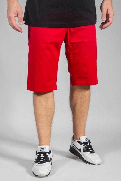 OPONENT SHORTS CLASSIC CHINO RED