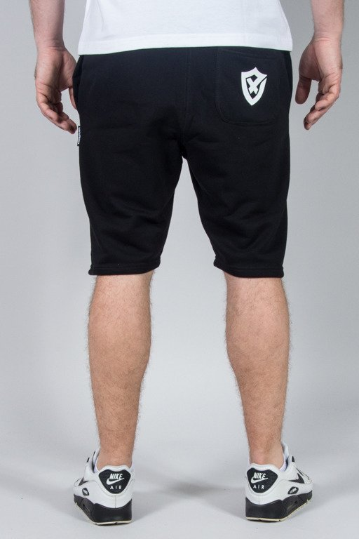 OPONENT SWEATSHORTS SHIELD BLACK