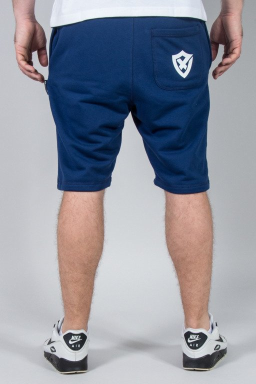 OPONENT SWEATSHORTS SHIELD NAVY