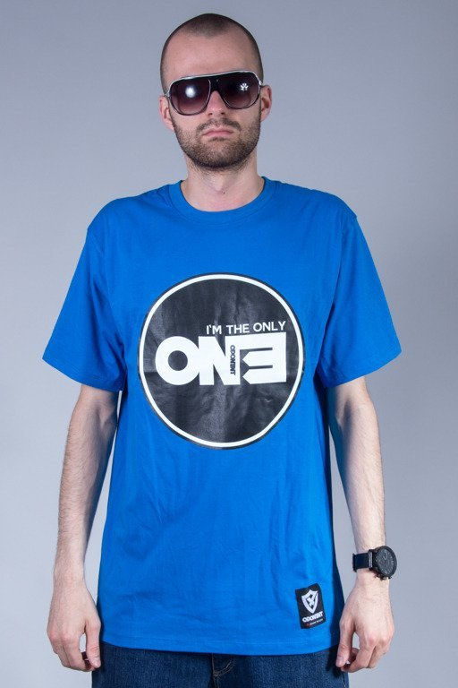 OPONENT T-SHIRT ONLY ONE BLUE
