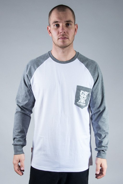 OUTSIDEWEAR LONGSLEEVE POCKET WHITE-GREY