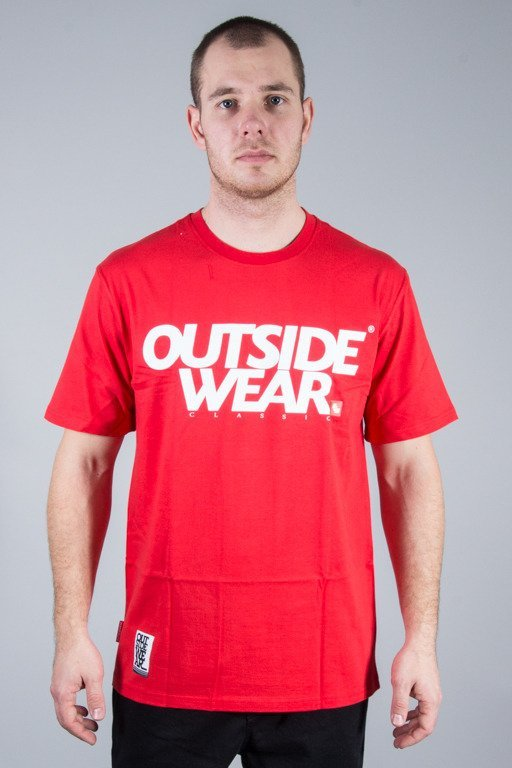 OUTSIDEWEAR T-SHIRT CLASSIC RED