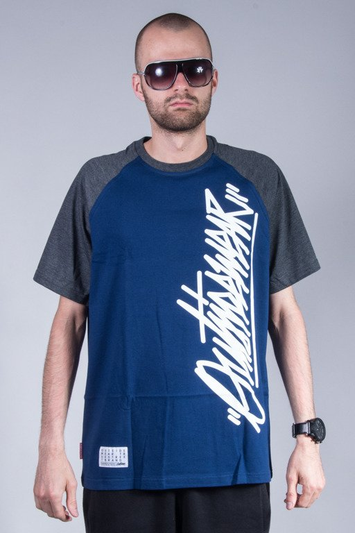 OUTSIDEWEAR T-SHIRT TAG NAVY-GREY