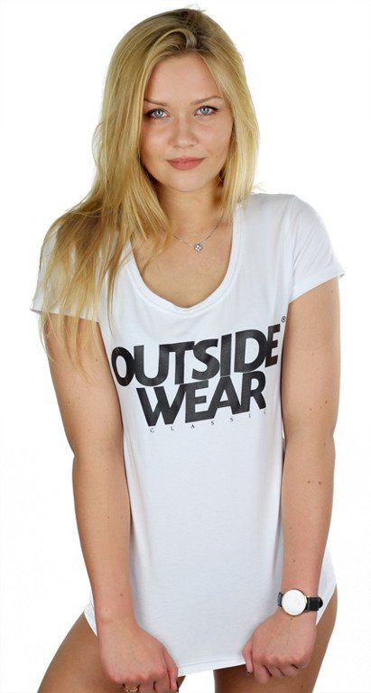 OUTSIDEWEAR T-SHIRT WOMAN CLASSIC WHITE