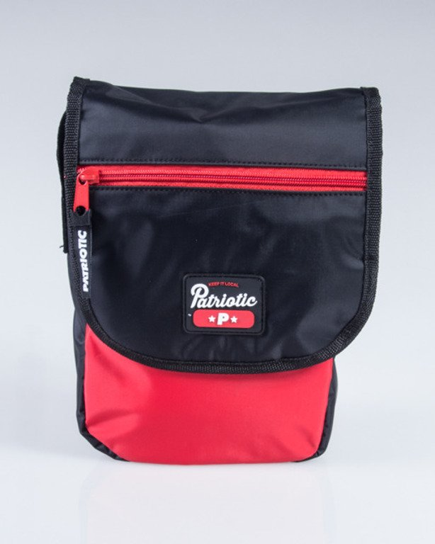 PATRIOTIC BAG NEW BLACK-RED