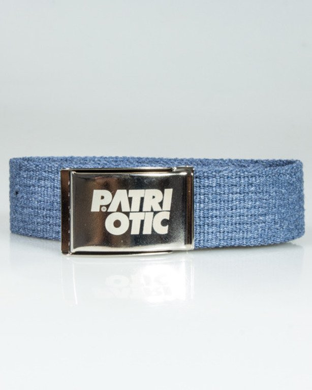 PATRIOTIC BELT CLS BLUE