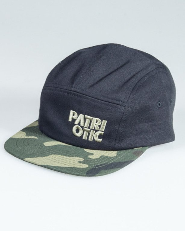 PATRIOTIC CAP 5PANEL CLS BLACK-CAMO