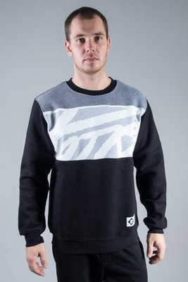PATRIOTIC CREWNECK TAG BLACK