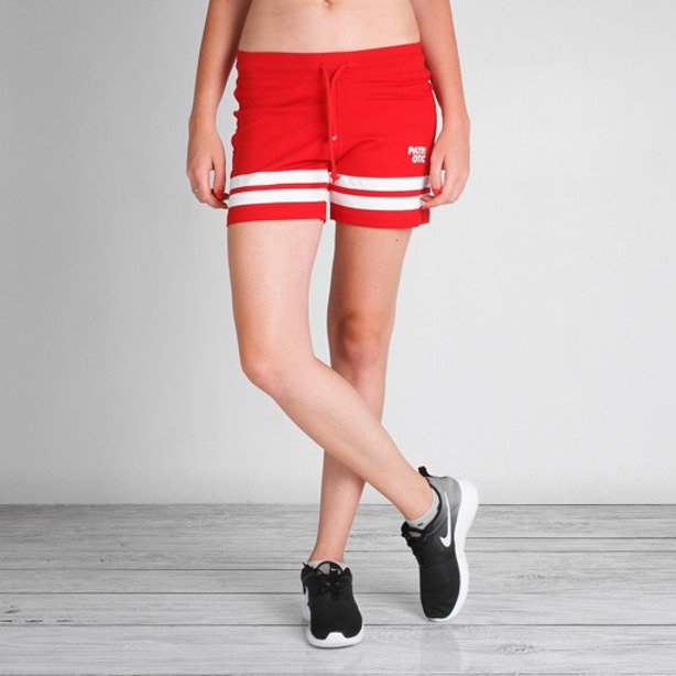 PATRIOTIC GIRL SHORTS CLS RED