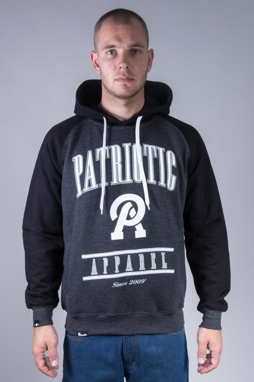 PATRIOTIC HOODIE APPAREL GRAFIT-BLACK