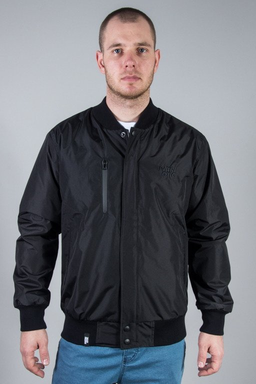 PATRIOTIC JACKET BOMBER CLS BLACK