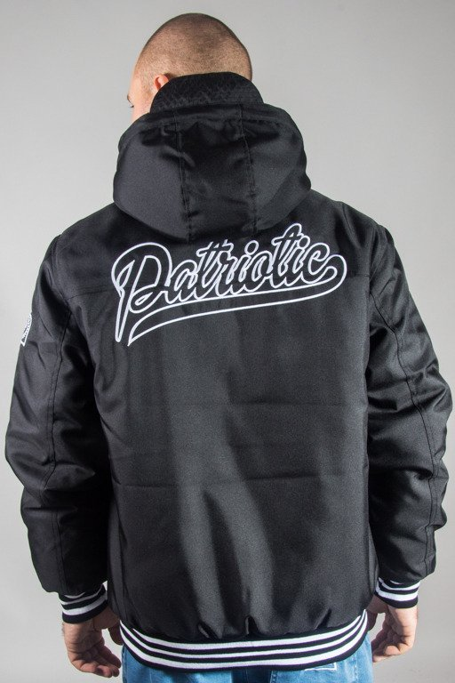 PATRIOTIC JACKET SHIELD ATHLETIC BLACK
